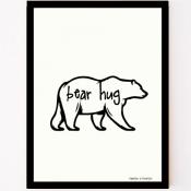 poster bear hug