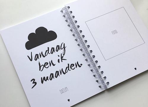 Welp Dit ben ik - Eerste jaar boek - Koetjes en Kaartjes.nl FX-64